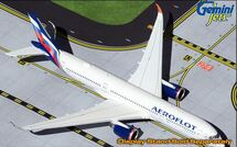 Aeroflot Airbus A350-900, VQ-BFY Gemini Jets Diecast Display Model