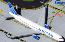 United Airlines B767-300ER N676UA New Livery Gemini Jets Diecast Display Model