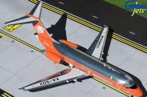 Aeromexico DC-9-15 XA-SOY 1980s livery, orange/polished Gemini 200 Diecast Display Model