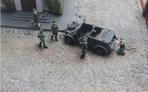 Type 82 Kubelwagen + Sd.Kfz.2 Kettenkrad  2nd Panzer Division, German Army, 1940 (Plastic)