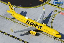 Spirit Airlines A321-200, N672NK Gemini Jets Diecast Display Model