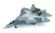 Su-57 Gray Camouflage Paint Scheme, Russian Air Force #052