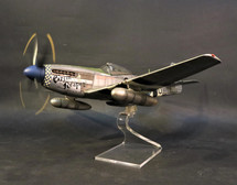 P-51D Grim Reaper, Captain Lowell Brueland 355th fighter squadron, 354th fighter group, Ninth Army Air Force, Nov 1945 (8 pcs), WWII