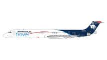 AeroMexico McDonnell Douglas MD-83 N848SH Gemini Jets Diecast Display Model