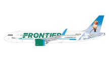 Frontier A320neo, N318FR Gemini 200 Diecast Display Model