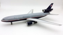 United Airlines McDonnell Douglas DC-10-10 N1835U plus stand