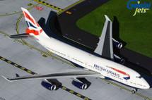 British Airways B747-400 B747-400 G-CIVN Gemini Jets Diecast Display Model