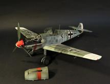 Bf-109 E4 STAB/ JG53 Pik As, Hptm. Wilhelm Meyerweissflog, Rennes, France WWII, August 1940