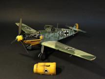 Bf-109 E4 STAB/ JG53 Pik As, Olt. Friedrich Karl Tutti Muller, Etaples, France, WWII October 1940