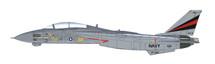 F-14A Tomcat USN VF-154 Black Knights, USS Kitty Hawk, 1000th Landing 1999