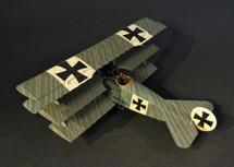 Fokker F.I 103/17, JASTA 11, September 1917, Ltn. Werner Voss, WWI Knights of the Skies