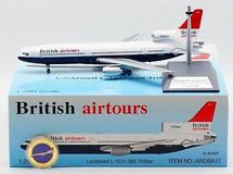 British Airtours Lockheed L-1011 G-BHBP with stand