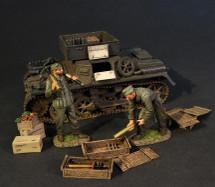 German Armour, Panzer I Ausf.A Munitionsschlepper with 2 Crewmen (5 pcs)
