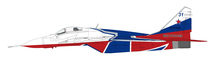 MiG-29 Fulcrum Strizhi Aerobatic Team, Russian Air Force, 2019