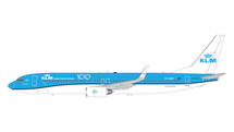 KLM B737-900 PH-BXP KLM 100 Gemini 200 Diecast Display Model