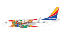 Southwest Airlines 737-700, N945WN Florida One Gemini 200 Diecast Display Model