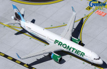 """Frontier Airlines A321, N709FR """"Steve the Eagle"""" Gemini Diecast Display Model"""