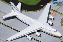 An-124-100M Ruslan Diecast Model Antonov, UR-82027 Gemini Jets Diecast Display Model