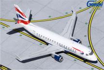 British Airways E-170 CityFlyer, G-LCYG Gemini Jets Diecast Display Model