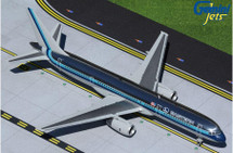 Eastern Air Lines 757-200, Polished 1980s Livery, N502EA Gemini 200 Diecast Display Model