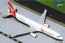 "Qantas Freight A321P2F, VH-ULD ""Australia Post"" titles Gemini 200 Diecast Display Model"