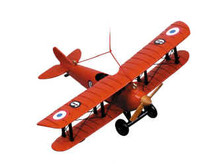 Airplane Keepsake, Red Authentic Models