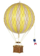 Hot Air Balloon Yellow by Authentic Models