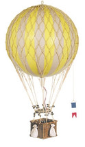 Hot Air Balloon - Yellow Authentic Models
