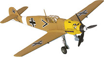 Bf 109E Luftwaffe 1./JG 27, Ludwig Franzisket