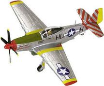 "P-51D Mustang USAAF 31st FG, 308th FS, ""Tempus Fugit"""