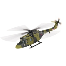 "Lynx AH.Mk 1 Royal Army Air Corps No.655 Sqn, XZ666 ""Damien the Lynx"""
