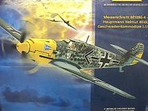 BF-109 Messerschmitt Hauptmann Helmut Wick`s