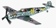 BF-109 Messerschmitt Waldemar Wubke`s