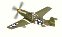 """P-51D Mustang Bud Anderson`s """"Old Crow"""""""