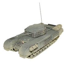 Churchill MK III Tank Armored Vehicle
