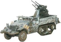 M16 Quad Gun Anti Aircraft Half Track US Army