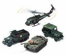 Set Century of War Tour of Duty Vietnam Corgi