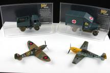 Set Their Finest Hour - WWII (4) piece Corgi