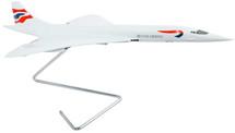British Airways Concorde 1/100 Mahogany Display Model