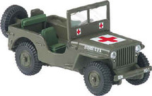 Jeep Medic 62nd Battalion Corgi