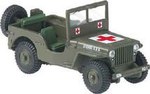Jeep Medic 62nd Battalion Corgi
