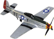 "P-51 Mustang USAAF Chuck Yeager's ""Glamorous Glen"" Corgi"