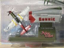 "P-51 Mustang Tuskegee Airmen ""Red Tail"" Bunnie Corgi (Nose Art) Corgi"