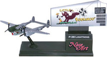 P-38 Lightning Little Buckaroo Corgi