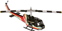 Helicopter Bell 205 Corgi