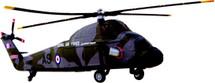 Wessex Helicopter RAF Corgi