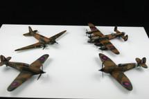 Collectors Set of Four Battle of Britain Set Corgi