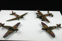 Collectors Set of Four Battle of Britain Set Corgi