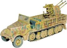 Half Track German Army SDKFZ