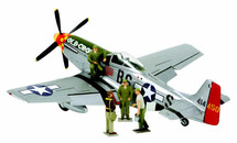 """P-51D Mustang Capt. """"Bud"""" Anderson`s """"Old Crow"""""""